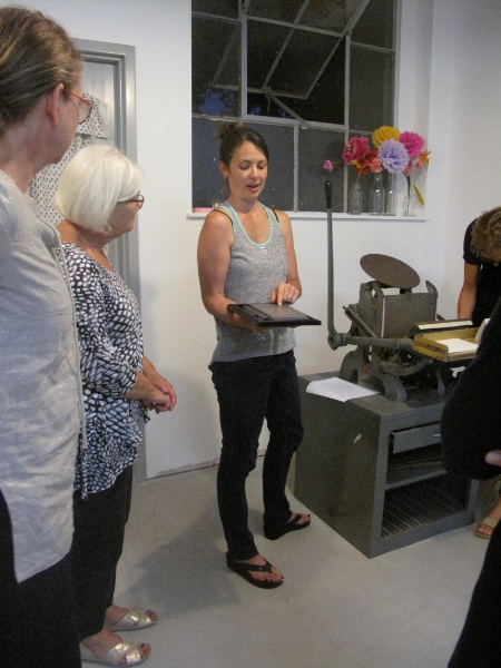 Well Hello Letterpress Handcraft Studio School Workshop