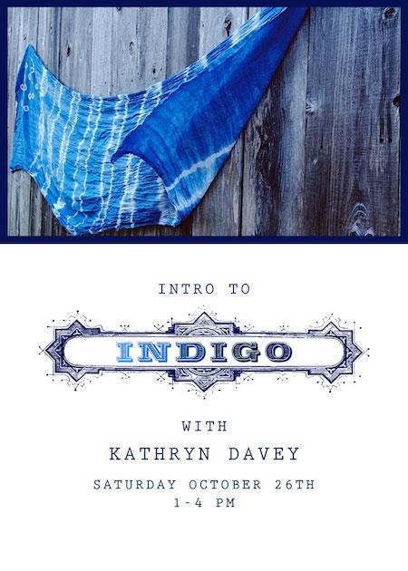 Indigo Poster Handcraft Studio School