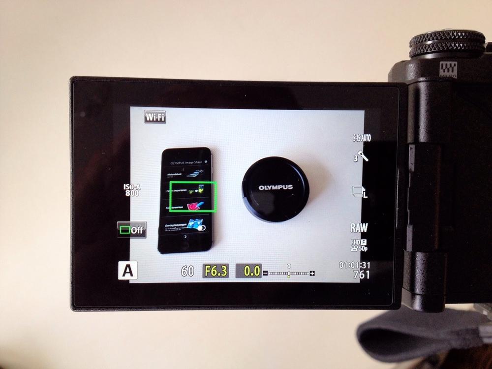 Via touchscreen snel het focus punt verplaatsen