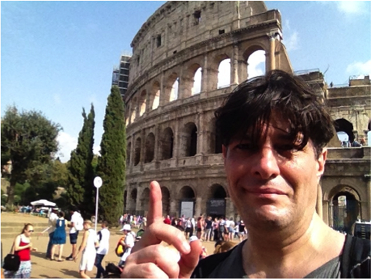 when in rome selfie