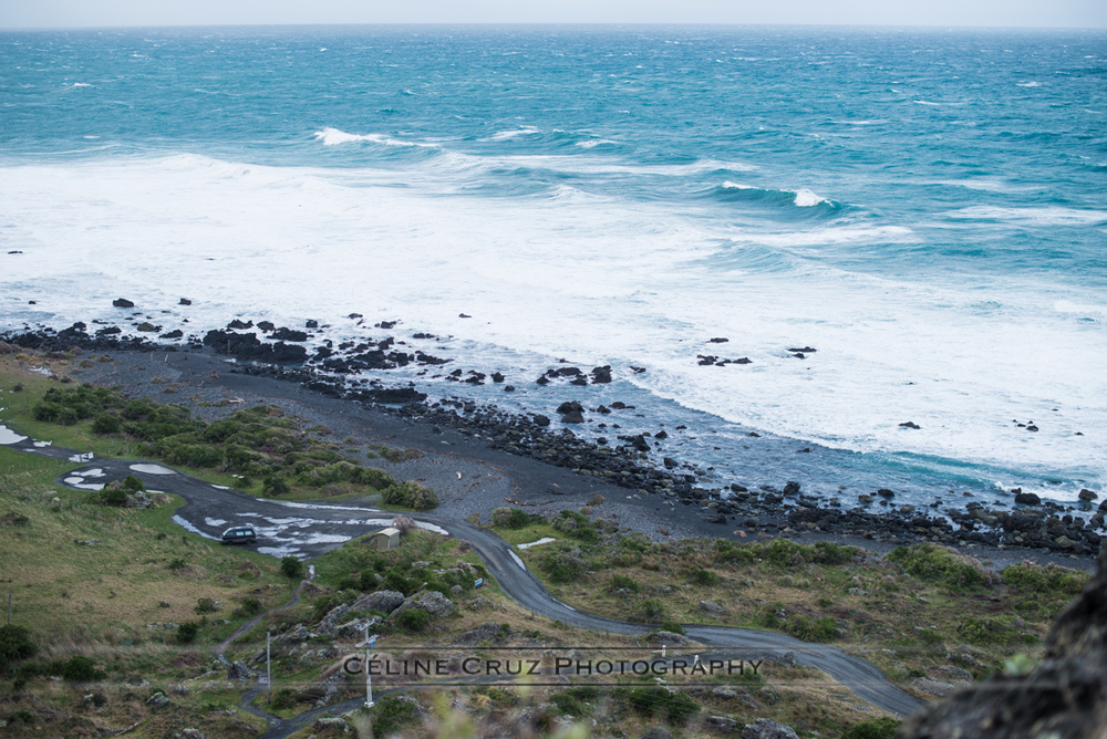 Cape Palliser - view from the Lighthouse