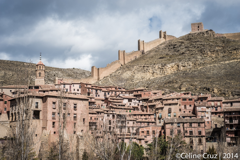 Albarracin from the opposite mountain
