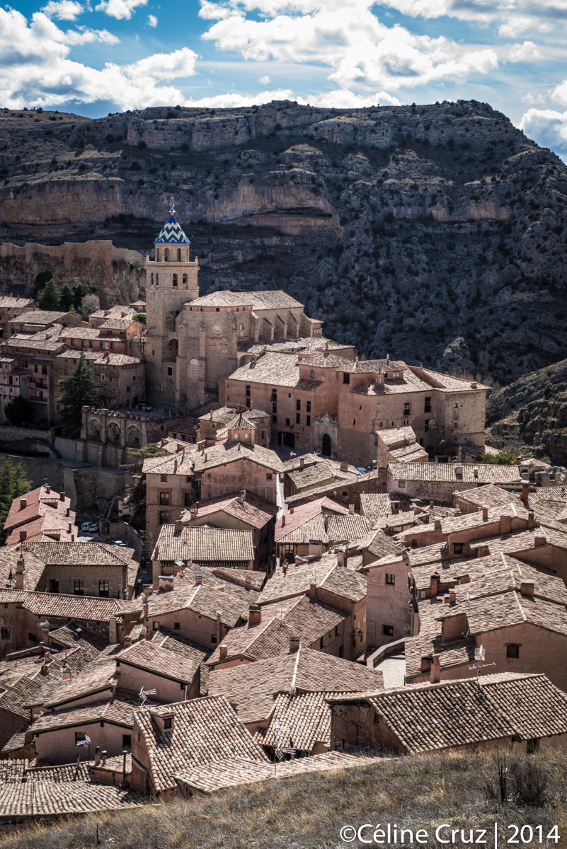 Albarracin from the wall