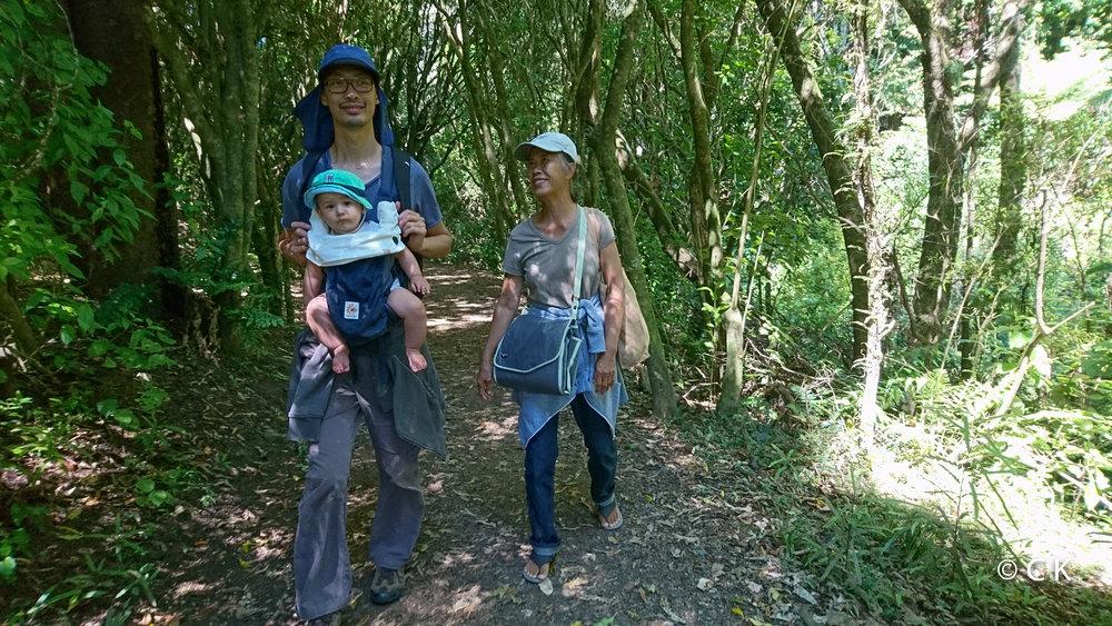 Dans le bush avec Mamie Nay