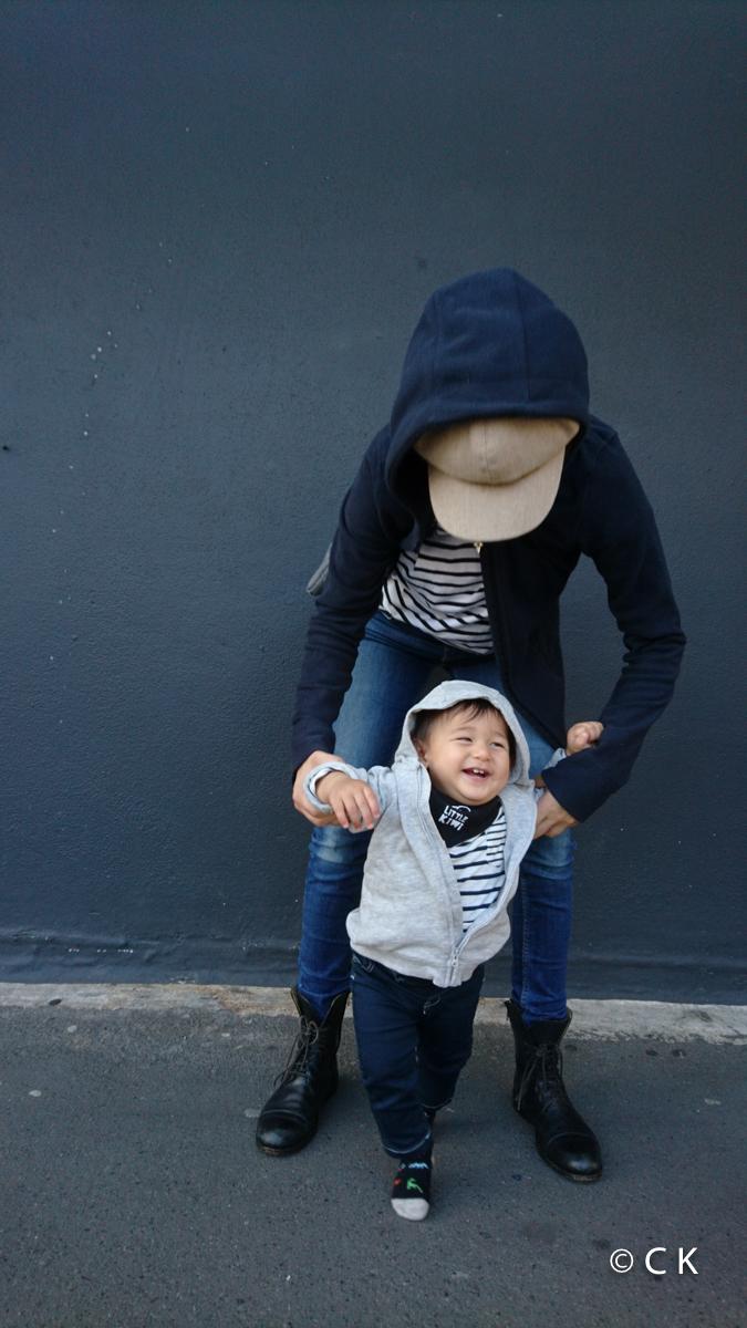 10 mois - Maman et moi, on est habillé pareil!