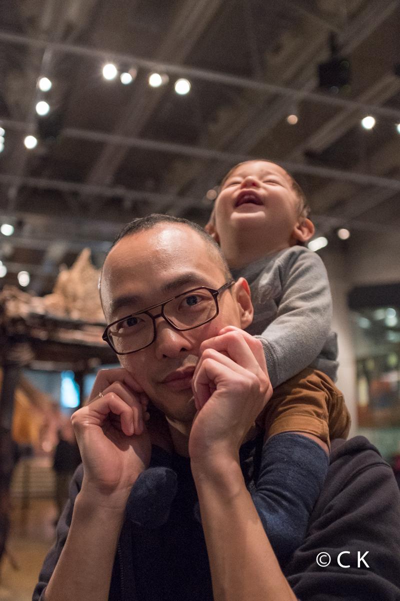 10 mois - je me marre au musée Te Papa