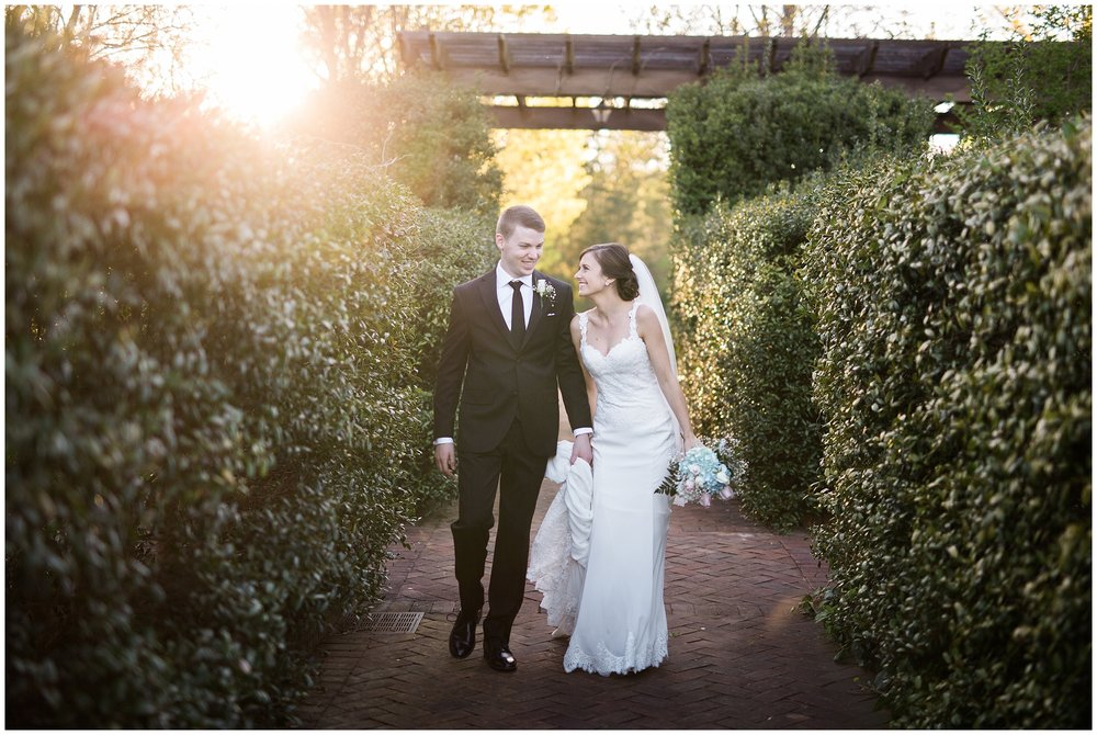 Courtney + Michael | Daniel Stowe Botanical Garden Wedding | Charlotte, NC  Wedding Photographer