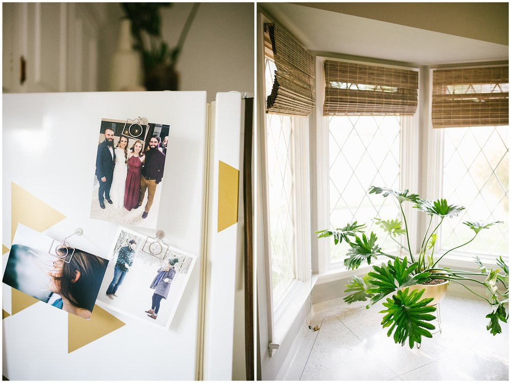 The Airbnb had houseplants all around… really was so me.