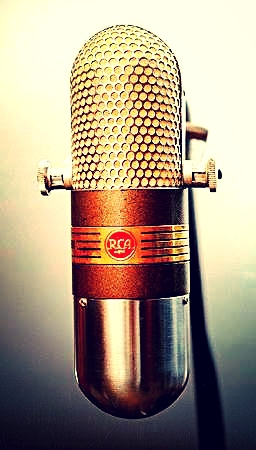 RCA 77-DX RIBBON MICROPHONE 1947