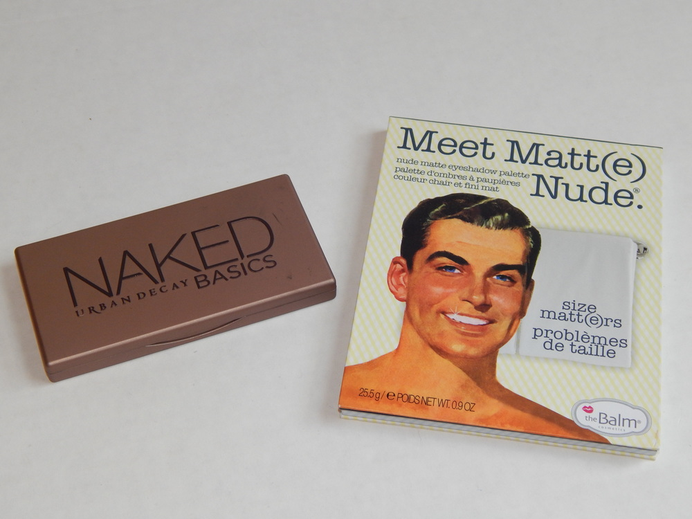 Naked Basics by Urban Decay and Meet Matt(e) Nude by the Balm