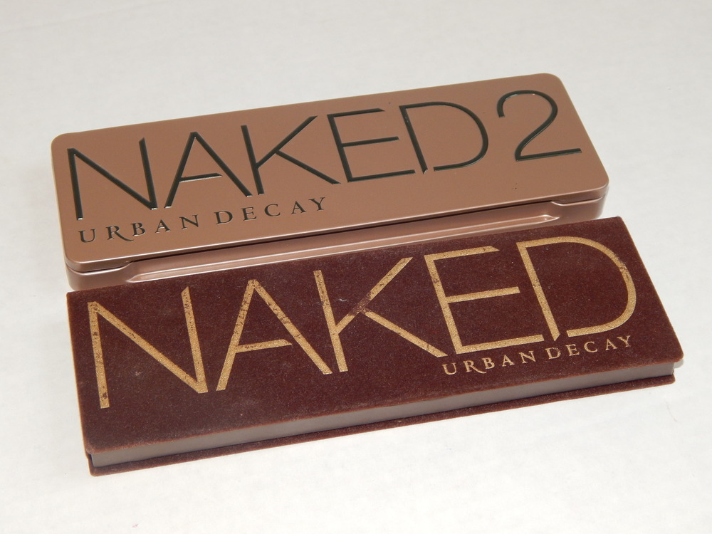 Naked 2 and Naked by Urban Decay