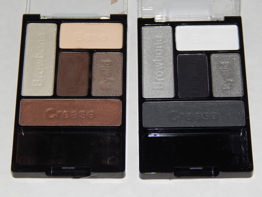 Wet n Wild Coloricon Palettes in The Naked Truth and Tunnel Vision. I love these things! I think Wet n Wild eyeshadows are so amazing, and anybody who is trying to save money should just stick to these shadows, no need to venture out.