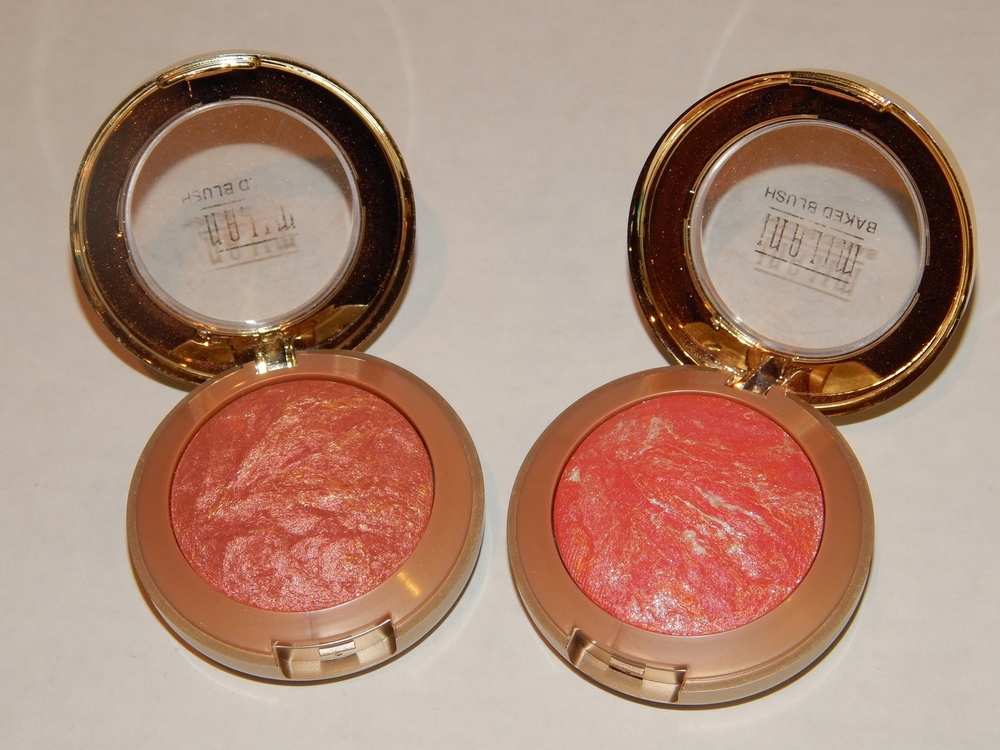 Milani Baked Blushes in Rose D'Oro and Corallina