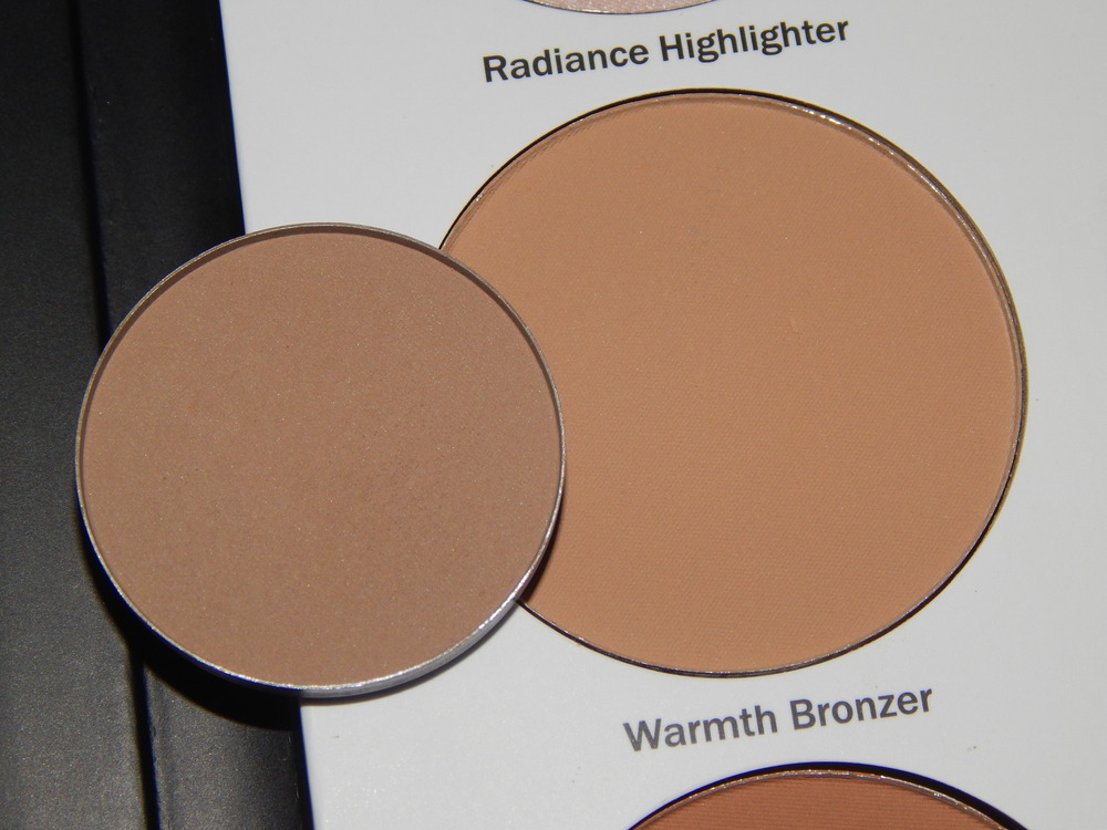 ABH's Java compared to Ulta's Warmth Bronzer.