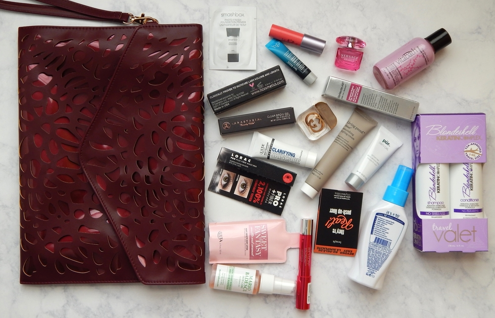 Platinum Perk 19-pc Beauty Bag with $100 Purchase.