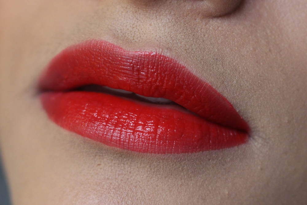 Maybelline Vivid Matte Liquid Lipstick in Rebel Red