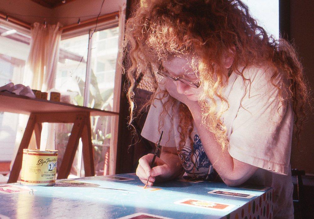 Artist Julie Wilson.