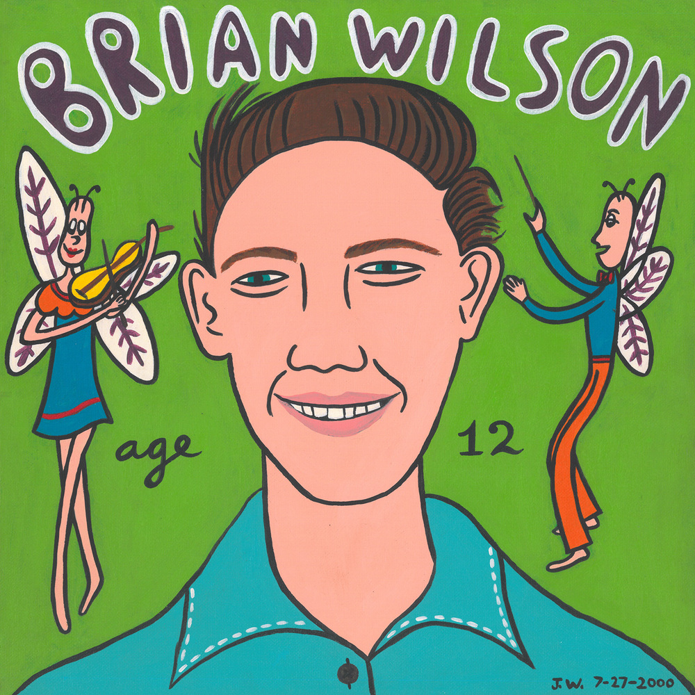 brian wilson age 12 julie wilson illustration