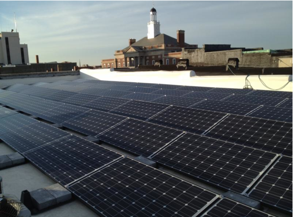 Independence business installs solar panels — Indy Energy