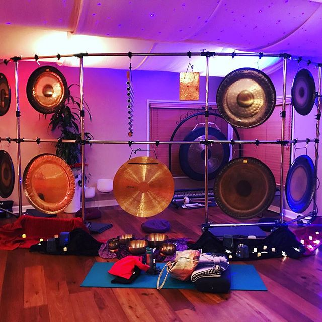 Amazing sound bath and Buddha activation last night at the Soul Of Yoga. :-)