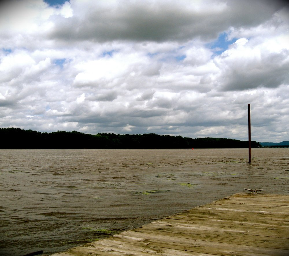 Wisconsin River Raft.JPG