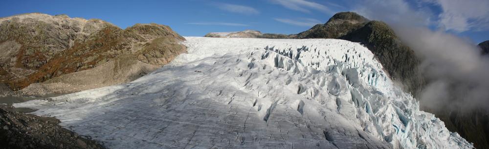 Supphellebreen Glacier 2010. Foto: Torunn Bøe.