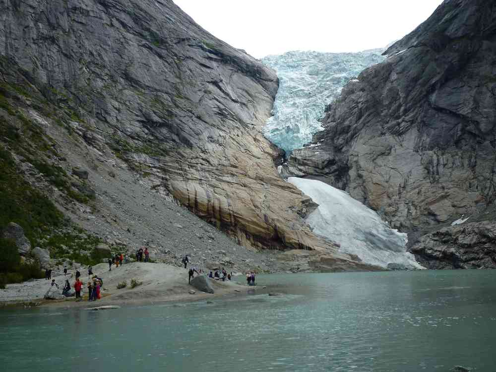 Briksdalsbreen Glacier 2012