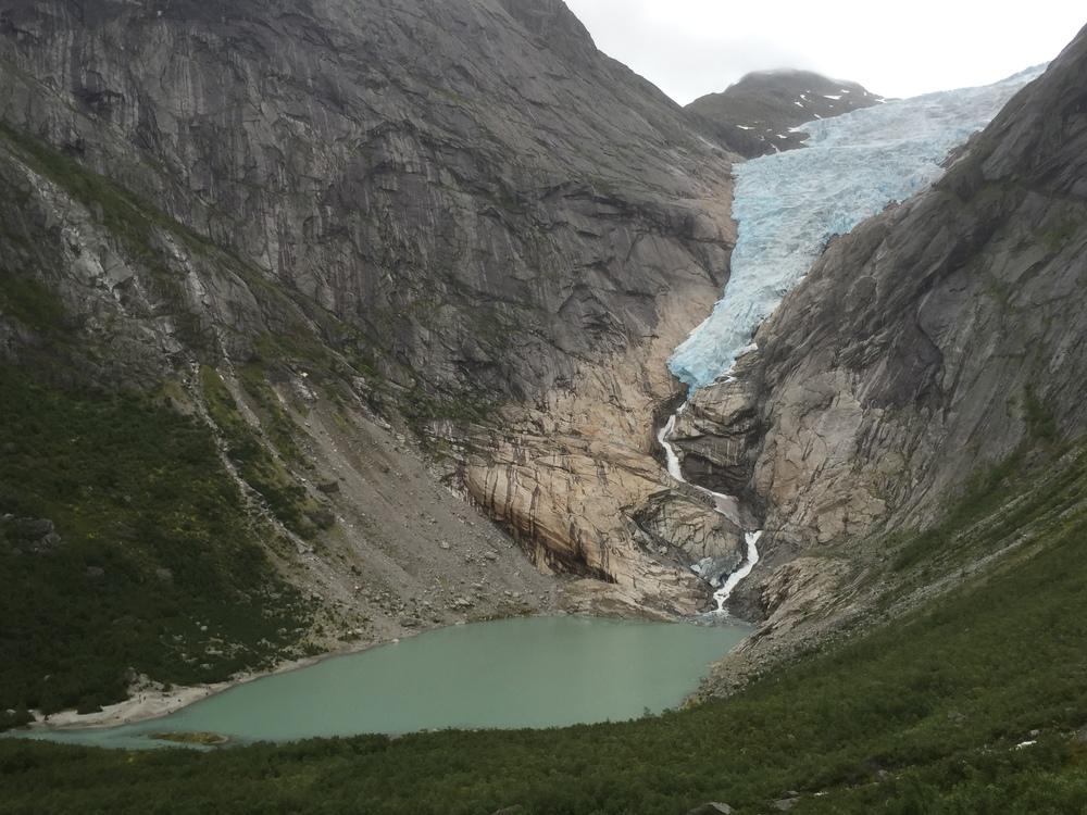 Briksdalsbreen Glacier 2015