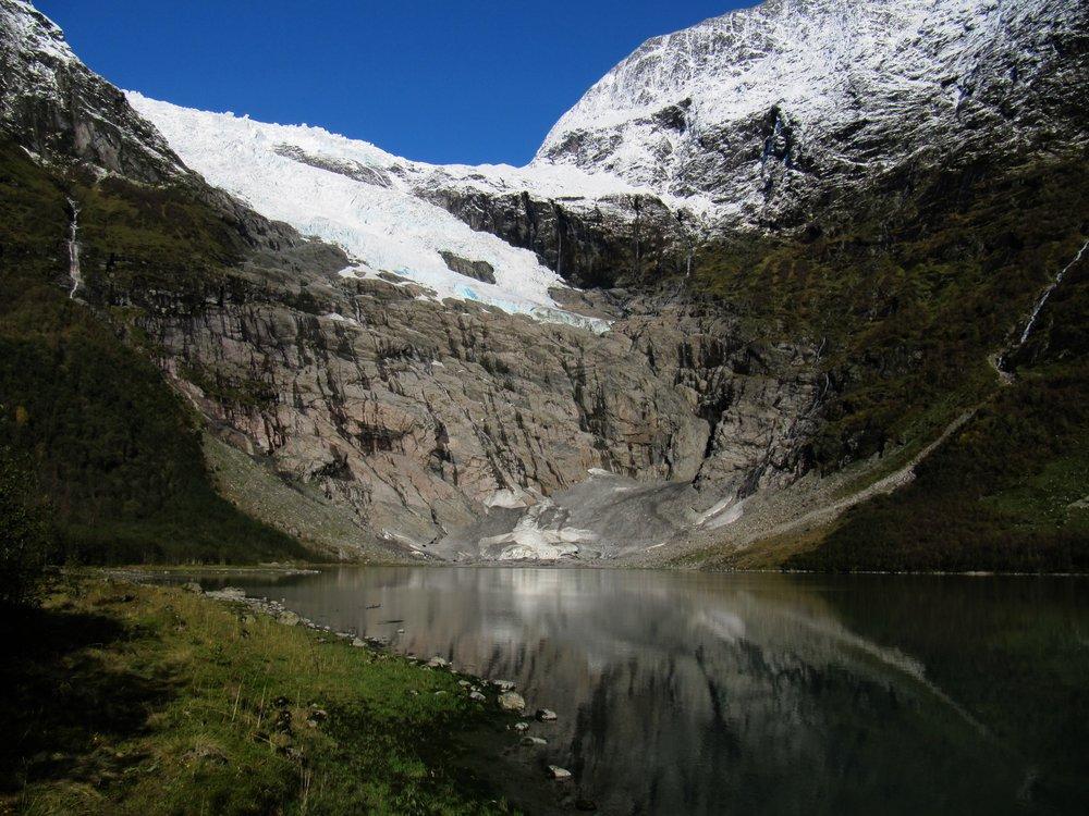 Bøyabreen Glacier 2011