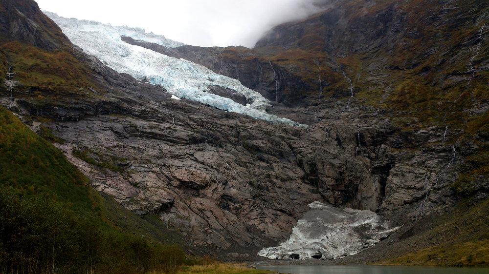 Bøyabreen Glacier 2014
