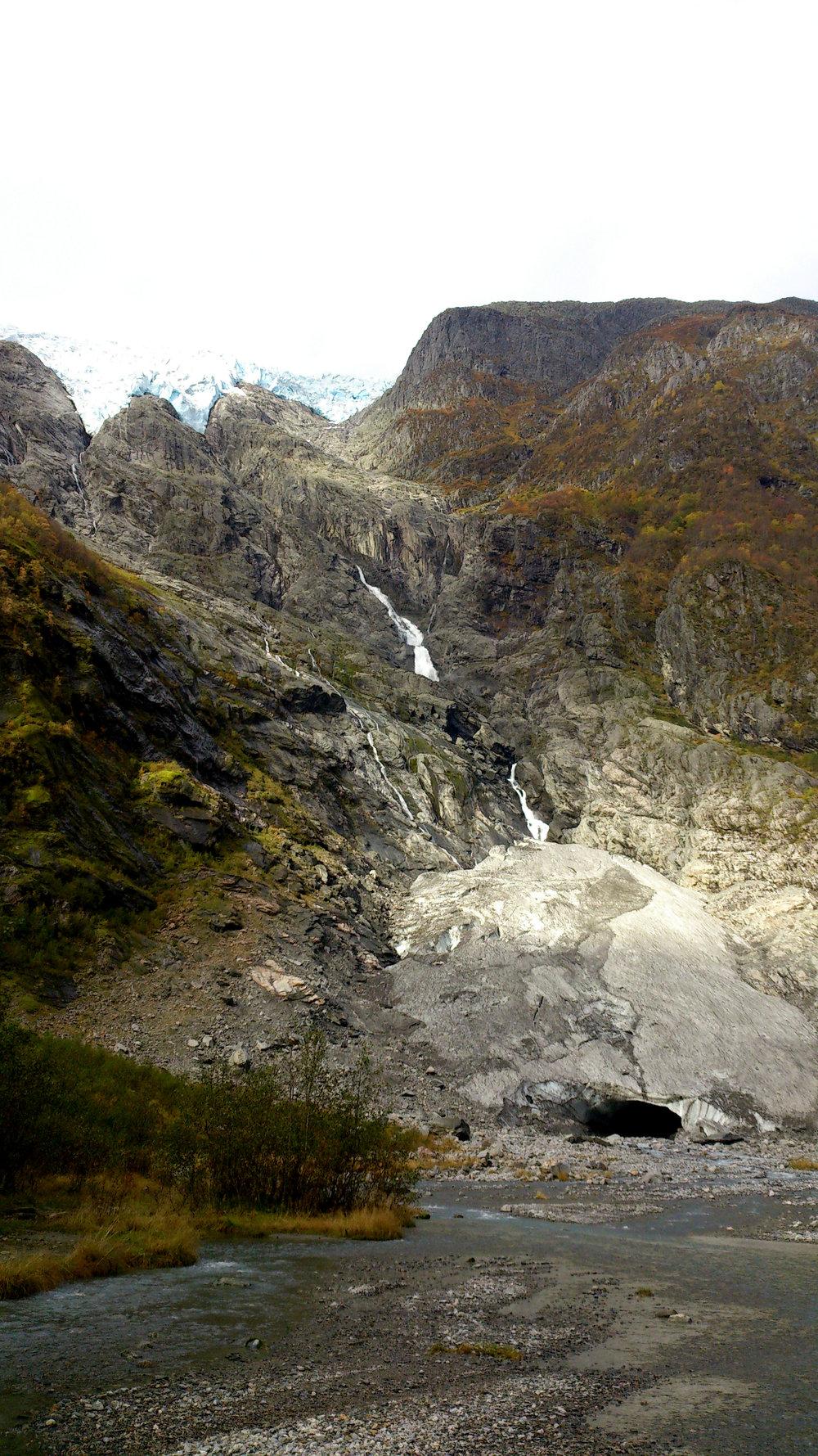 Supphellebreen Glacier 2014