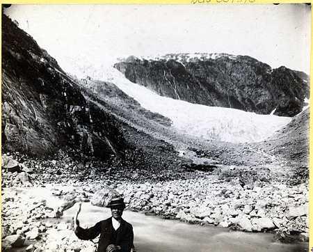 Vetle Supphellebreen Glacier 1884