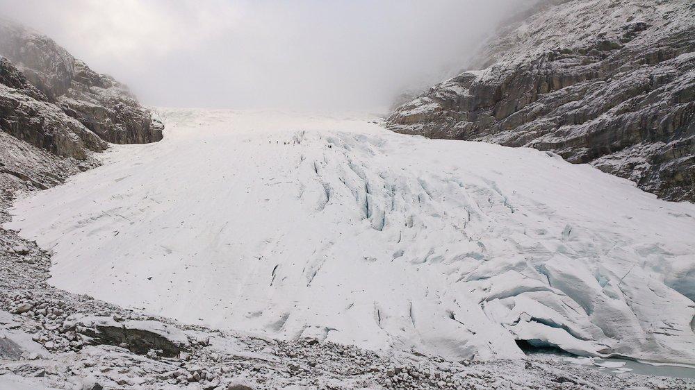 Haugabreen Glacier in 2013
