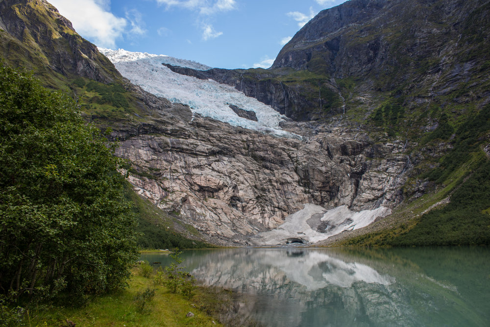 Bøyabreen Glacier 2018