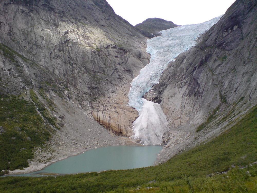 Briksdalsbreen Gletscher 2010