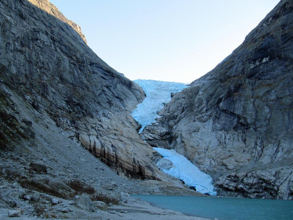 Briksdalsbreen Gletscher 2011