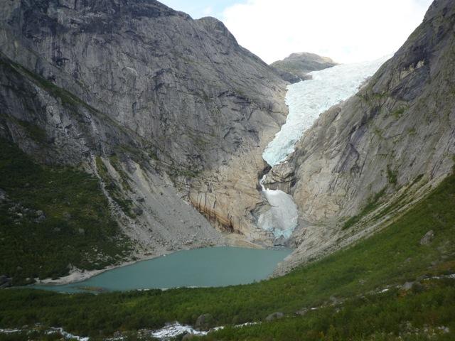 Briksdalsbreen Gletscher 2014