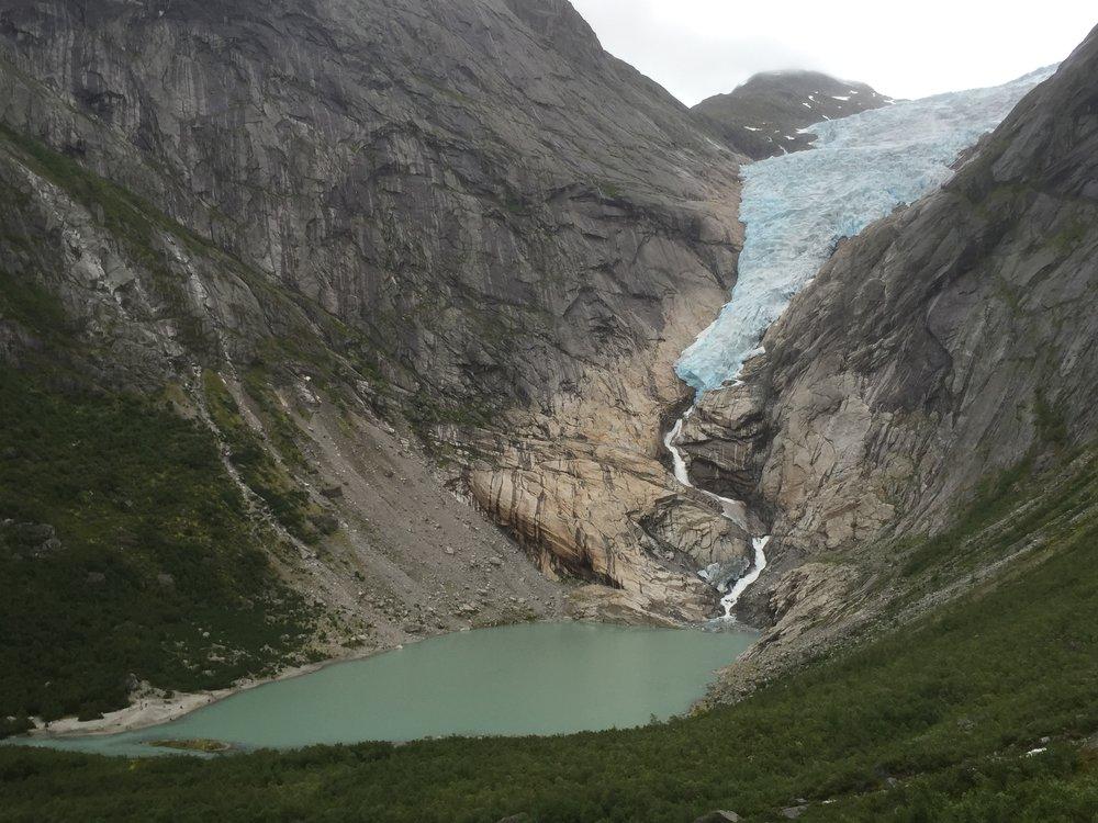 Briksdalsbreen Gletscher 2015