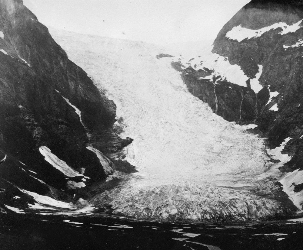 Bøyabreen Gletscher 1868