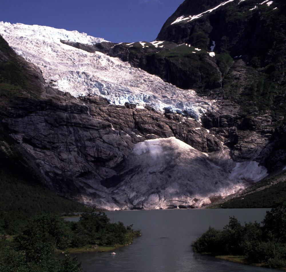 Bøyabreen Gletscher 1989