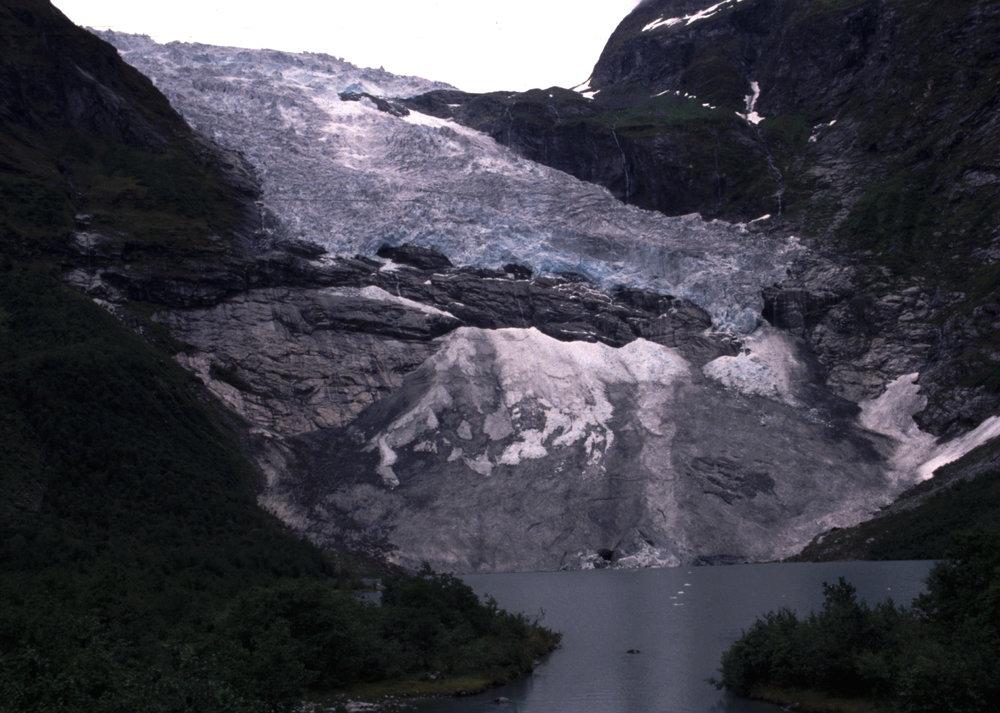 Bøyabreen Gletscher 1993