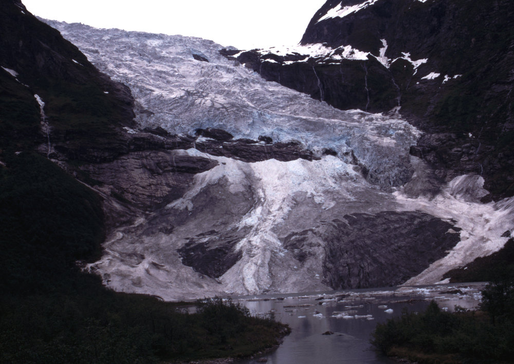 Bøyabreen Gletscher 1997