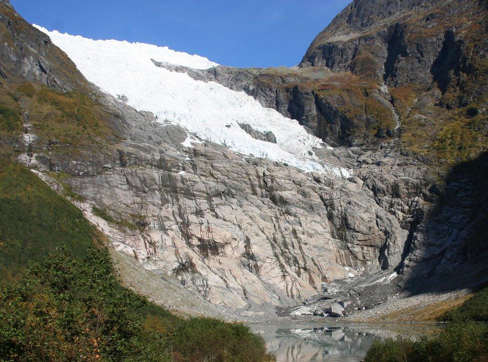 Bøyabreen Gletscher 2010