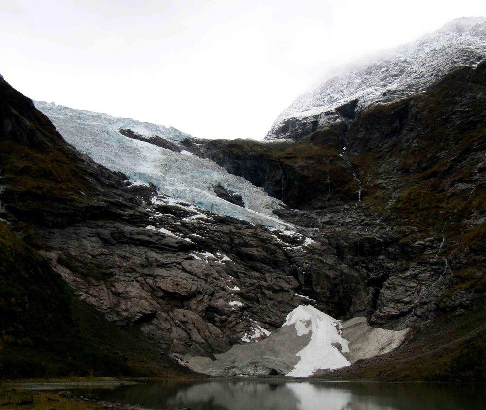 Bøyabreen Gletscher 2012