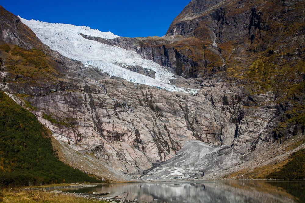 Bøyabreen Gletscher 2013