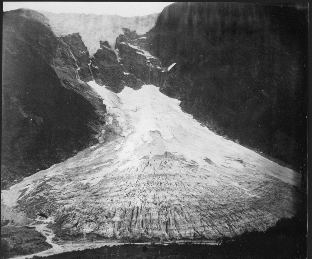 Supphellebreen Gletscher 1867