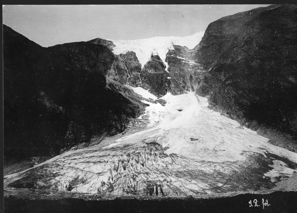 Supphellebreen Gletscher 1899