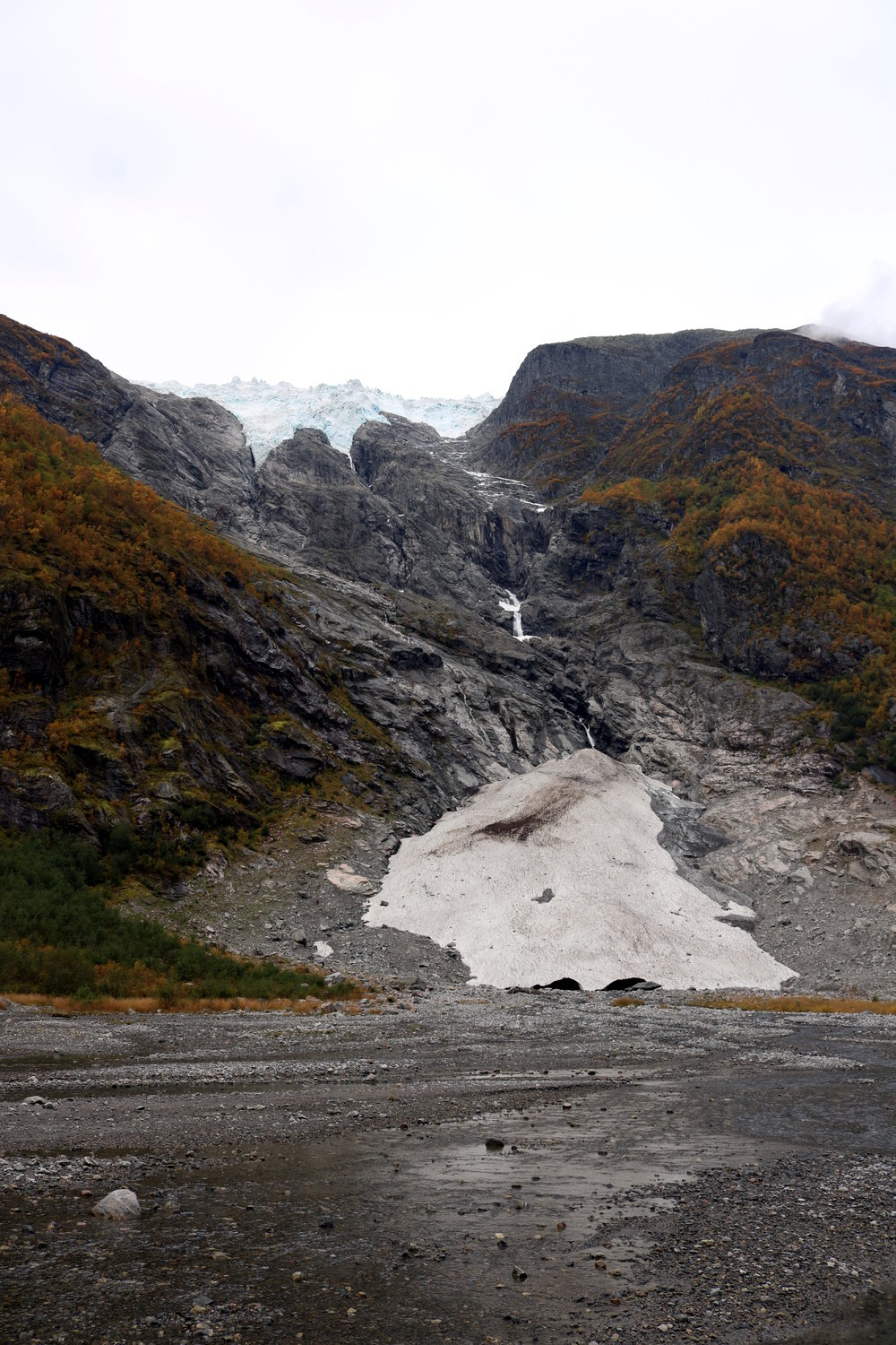 Supphellebreen Gletscher 2015