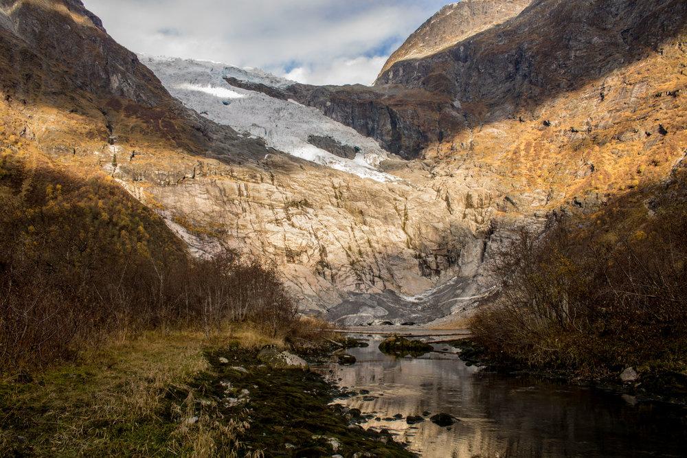Bøyabreen Gletscher 2016
