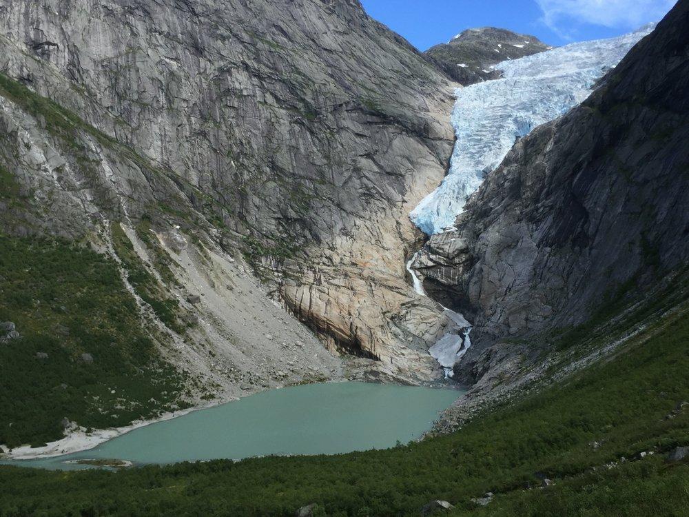 Briksdalsbreen Gletscher 2016